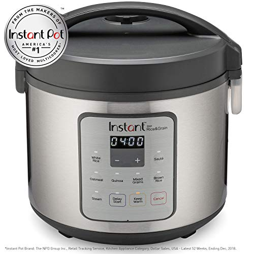 Instant Zest Rice and Grain Cooker – 20 cup rice cooker from the makers of Instant Pot