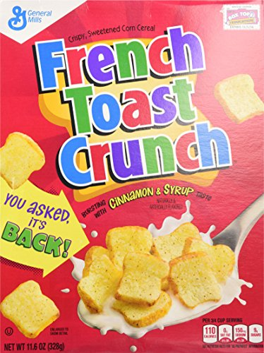 Granola Cinnamon Crunch (French Toast Crunch Cereal Box, 11.6 Ounce)
