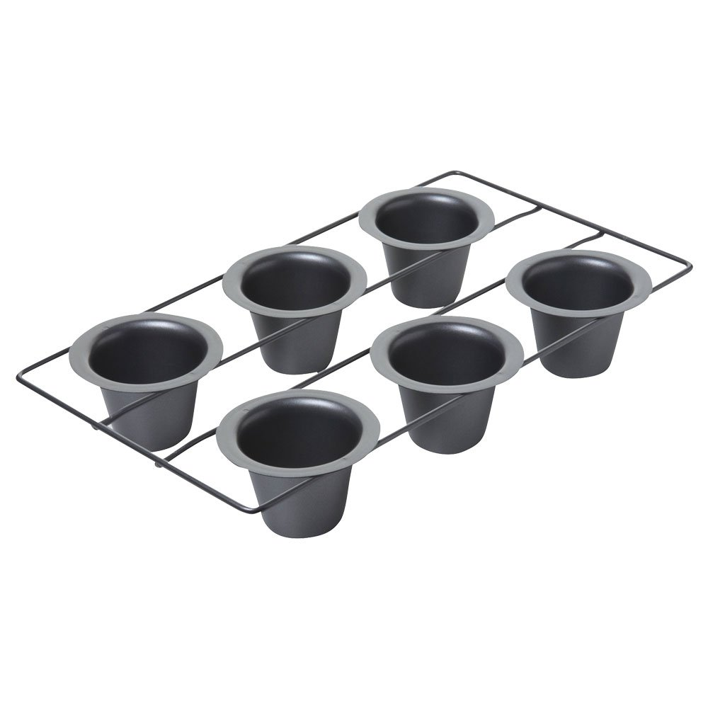 Chicago Metallic Professional 6-Cup Popover Pan, 15.5-Inch-by-9-Inch by Chicago Metallic