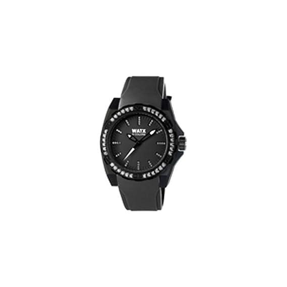 251fc48bbb43 Watx Reloj Análogo clásico para Mujer de Cuarzo con Correa en Caucho  RWA1883  Amazon.es  Relojes