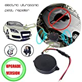 funfunfly [Upgrade Version] Ultrasonic Rodent Under Hood Animal Repeller Pest Deterrent Devices to Chase Mice Rat Mole for Car Truck Motobike Vehicle