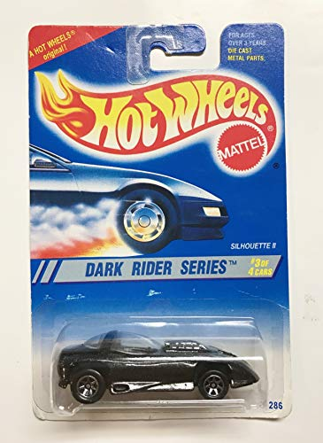 1994 Hot Wheels Dark Rider Series 1:64 Diecast Vehicle - #3 of 4 Silhouette II 7 ()