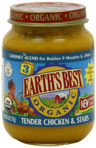 Earths Best Organic Tender Chicken