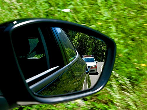 Tracking Police - Photography Poster - Tracking, Police, Rear Mirror, 24
