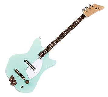 loog lge02g sólido cuerpo 3-string – Guitarra eléctrica, color verde