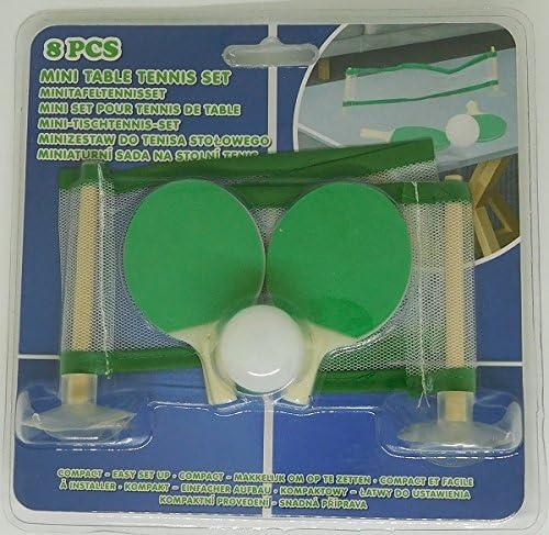 Mini Set para tenis de mesa – deporte ocio ping pong – 321: Amazon ...