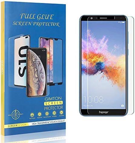 GIMTON Displayschutzfolie für Huawei Honor 7X, 9H Härte Kratzfest Panzerglasfolie, Ultra Transparente Schutzfilm aus Gehärtetem Glas für Huawei Honor 7X, 3 Stück