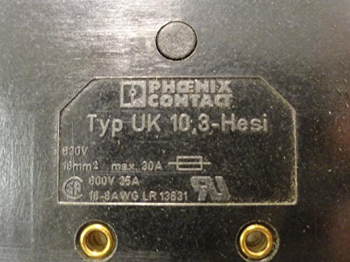 Phoenix Contact UK 10 3-HESI Fuse Holder 35A 600V