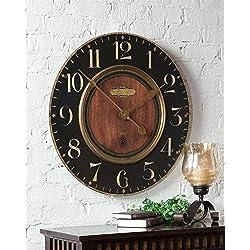 Uttermost Alexandre Martinot 30-Inch Wall Clock