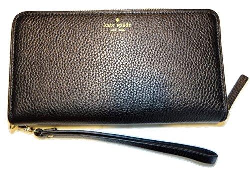 Kate Spade New York Mulberry Street Brigitta Wristlet Wallet Handbag (Mulberry Leather Collection)