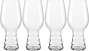 Spiegelau IPA Craft Beer Glasses (Set of 4), Clear
