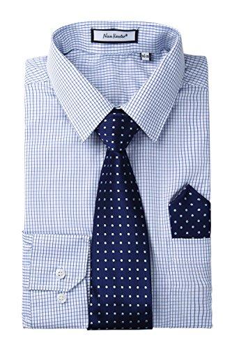 Blue White Check Shirt - 6