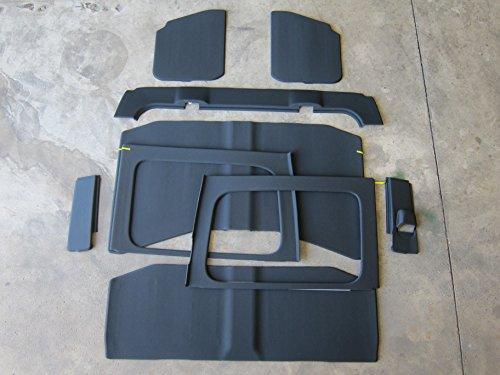 Jeep Wrangler JL 4 Door Headliner Insulation Kit Mopar - Tops Soft Jeep Mopar