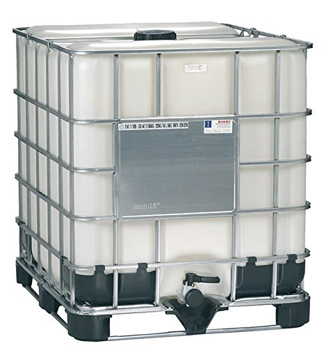 Air Sea Containers 275 Gallon IBC Plastic / Poly Tote, Food Grade (New)