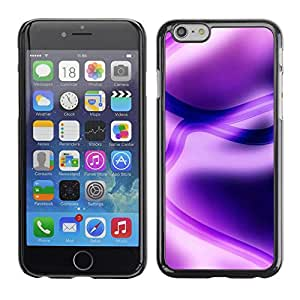 "For Apple Iphone 6 Plus / 6S Plus ( 5.5 ) , S-type Abstract Purple"" - Arte & diseño plástico duro Fundas Cover Cubre Hard Case Cover"