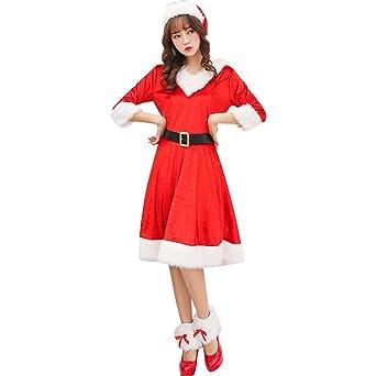 3366bdc14e383 Jocolate(ジョコレート) サンタコス サンタワンピース サンタ コスプレ サンタクロース 衣装 サンタ クリスマス レディース ワンピース  女の子
