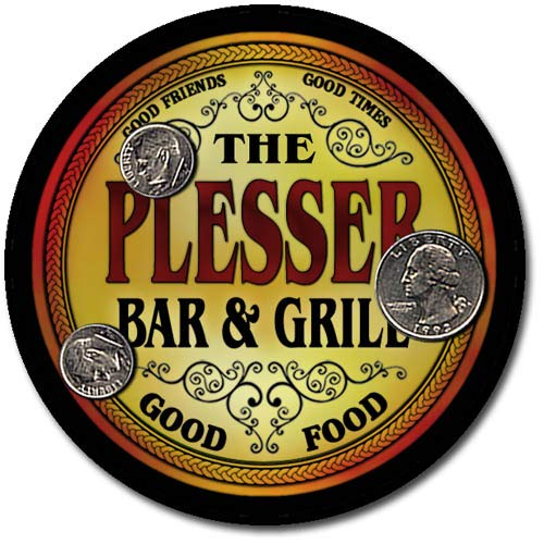 Plesser Family Bar and Grill Neoprene Drink Coasters -  ZuWEE, CBA1-PLESSER