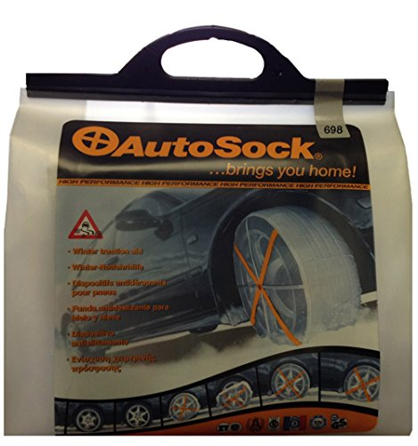 AutoSock 698 Size-698 Tire Chain Alternative by AutoSock