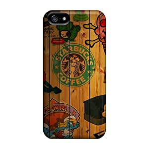 Cases For Iphone 5/5s With Starbucks Coffee Collage