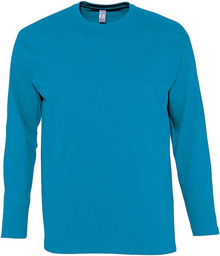 Camiseta de manga larga para hombre Modelo Monarch SOLS