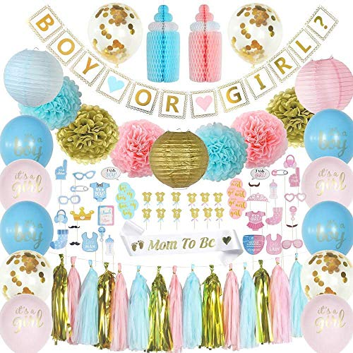 Lavagh Gender Reveal Party Supplies - Gender Reveal - Gender Reveal Decorations - Gender Reveal Party - Boy or Girl