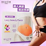 BEACUIR Wonder Belly 5Patches in Retail box MYMI Korea Burn Fat Wing Lose Weight