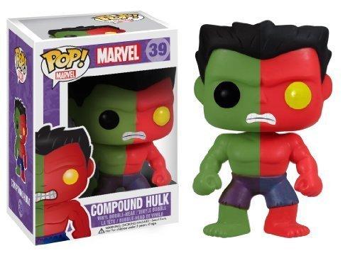 Funko POP! Vinyl Marvel: Compound Hulk Action Figure Toy Anxiety Exclusive