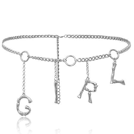 ZXLIFE@@ Decoraciones De Cintura para Mujeres, Cadena De Cintura ...