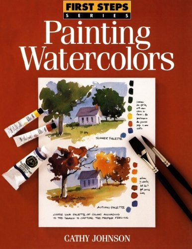 Watercolor Art Lesson - Painting Watercolors (First Steps)