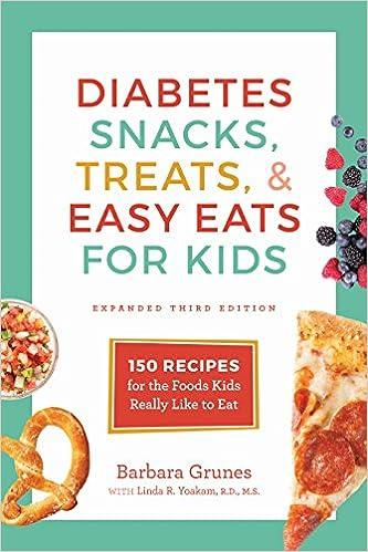 Children diabetes snacks treats and easy eats for kids