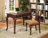 Best ACME Furniture Office Desks - Acme 09650 2-Piece Aristocrat Writing Desk and Chair Review