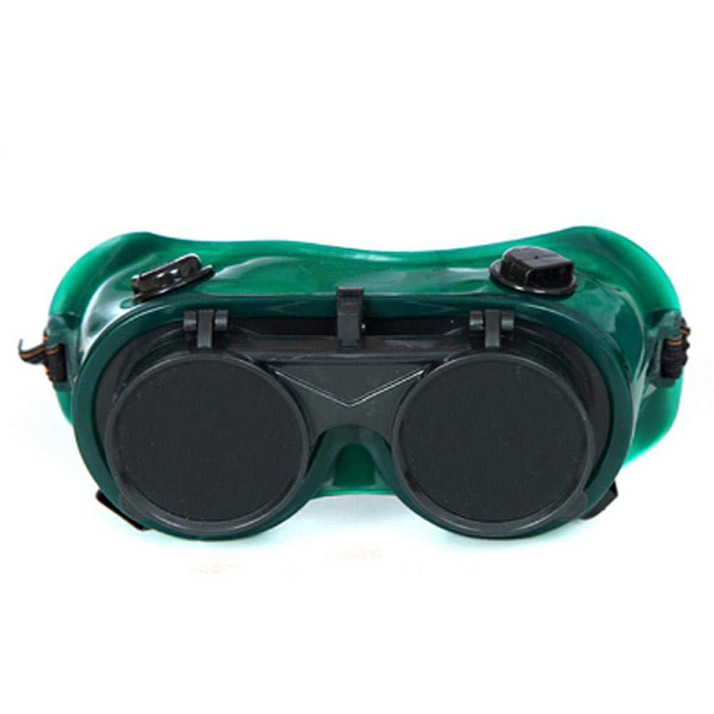 torcione FOONEE occhialini da Saldatura brasatura e Taglio di Metallo Occhiali protettivi per Saldatura Saldatura Occhiali di Sicurezza con Doppia Lente in ossido di acetilene