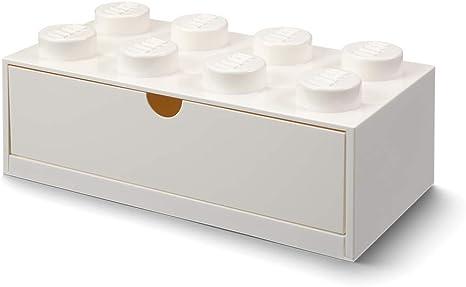 LEGO- Cajón de Escritorio 8 espigas, Blanco (Room Copenhagen 40211735) , color/modelo surtido: Amazon.es: Juguetes y juegos