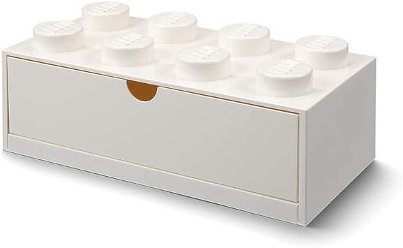 LEGO- Cajón de Escritorio 8 espigas, Blanco (Room Copenhagen ...