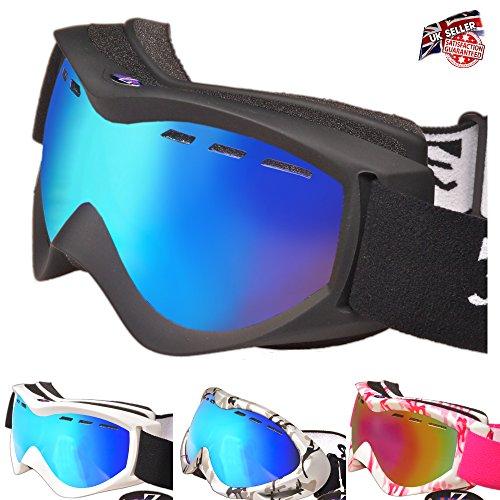 Rayzor Ski Snowboarding Goggles | Anti Fog, UV400 Protection, Ventilated...