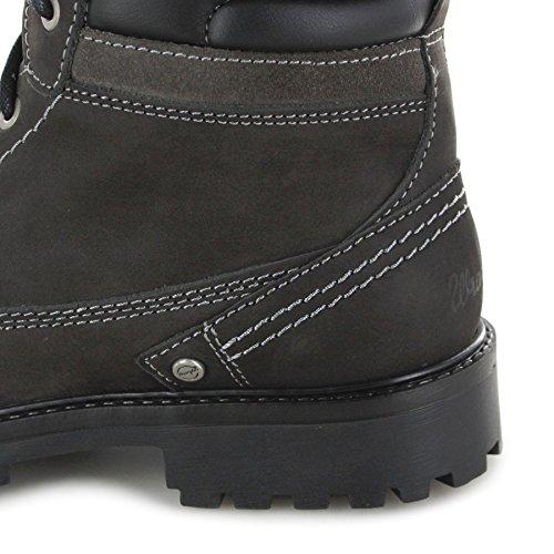 ... FB Fashion Boots Wrangler Creek WM172000 Anthracite Herren  Schnürstiefel Grau Stiefel Schnürung Chukka ... 335a7328fc