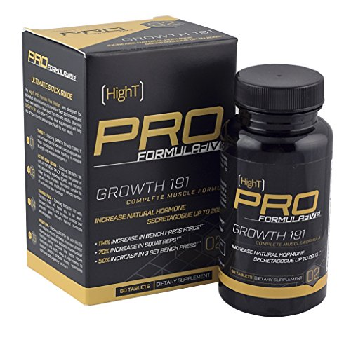 High T Pro FormulaFive Growth 191 - Bodybuilding Supplement - Gain Muscle Weight - 30 Day Supply (60 CT)