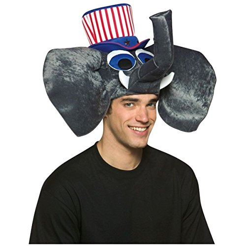 GSG Patriotic Elephant Hat Costume Accessory Republican GOP Halloween Dress]()