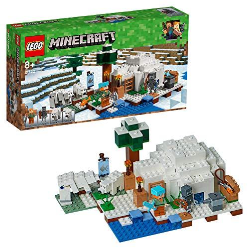 레고 (LEGO) 마인 크 래 프 트 북극의 이글루 21142 / LEGO Minecraft Arctic Igloo 21142