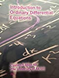 img - for Introduction to Ordinary Differential Equations - Custom Edition for The University of Akron book / textbook / text book
