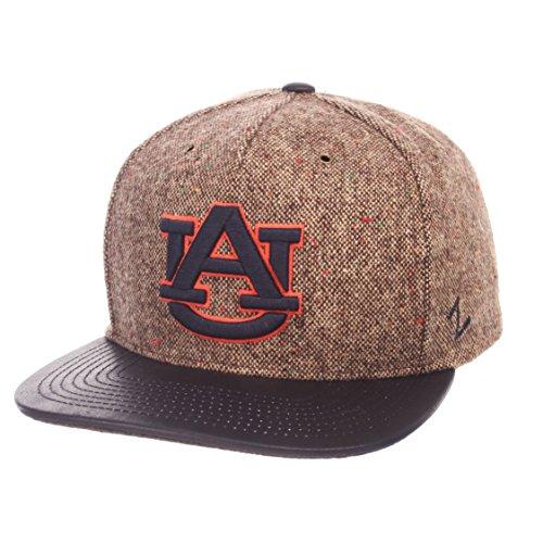 Zephyr NCAA Auburn Tigers Men's Legend Heritage Collection Hat, Adjustable, Tweed