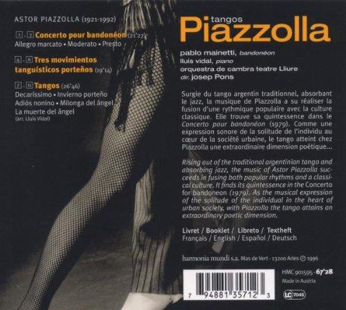 Piazzolla: Tango - Concerto pour Bandoneon by Harmonia Mundi Fr.