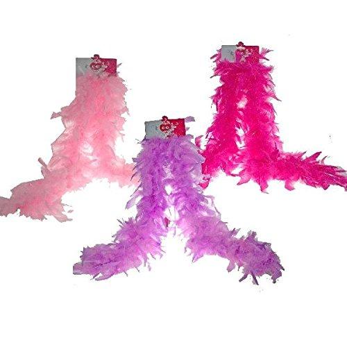 Slammer–0571042–Accesorio para disfraz–Boa–Princess Glitter–Color aleatorio