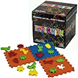 Pandemonium - Race Your Opponent To Recreate The Images. Work fast and don't panic! Multicolored 2 player or team family game that's fun for everyone. Uses hand/eye coordination and spatial awareness.