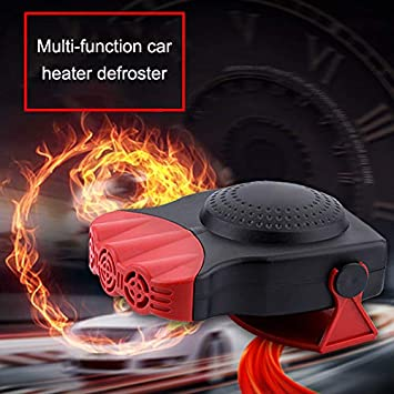 Fast Heating Quickly Defrosts Defogger Portable Heating Warmer Defroster Windshield Windows Glass Heated Device Alexsix Defrost Defog Mini Car Heater Electric Fan