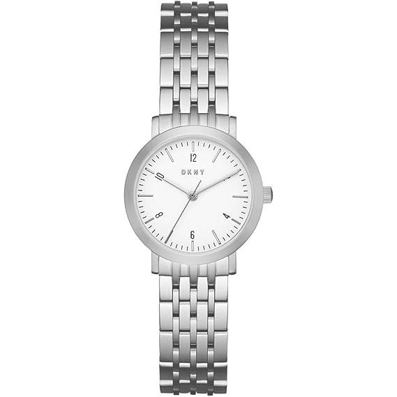 DKNY Reloj Analógico para Mujer de Cuarzo con Correa en Acero Inoxidable NY2509