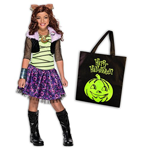 Monster High Clawdeen Deluxe Child Costume Kit -