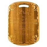 Ouija Cutting Board 14''x9.5''x.5'' Bamboo