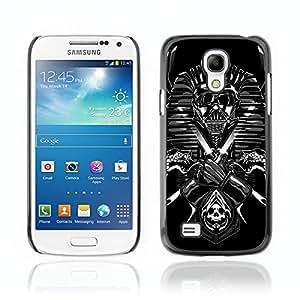 CASETOPIA / Darth Egyptian / Samsung Galaxy S4 Mini i9190 MINI VERSION! / Black Hard Back Case Cover Shell Armor Protection