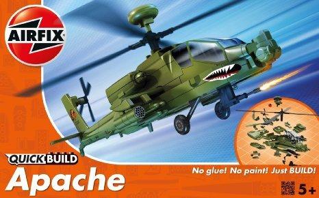 Airfix J6004 Modellbausatz Apache Quick-Build by